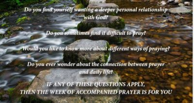 Week of Accompanied Prayer – opening session