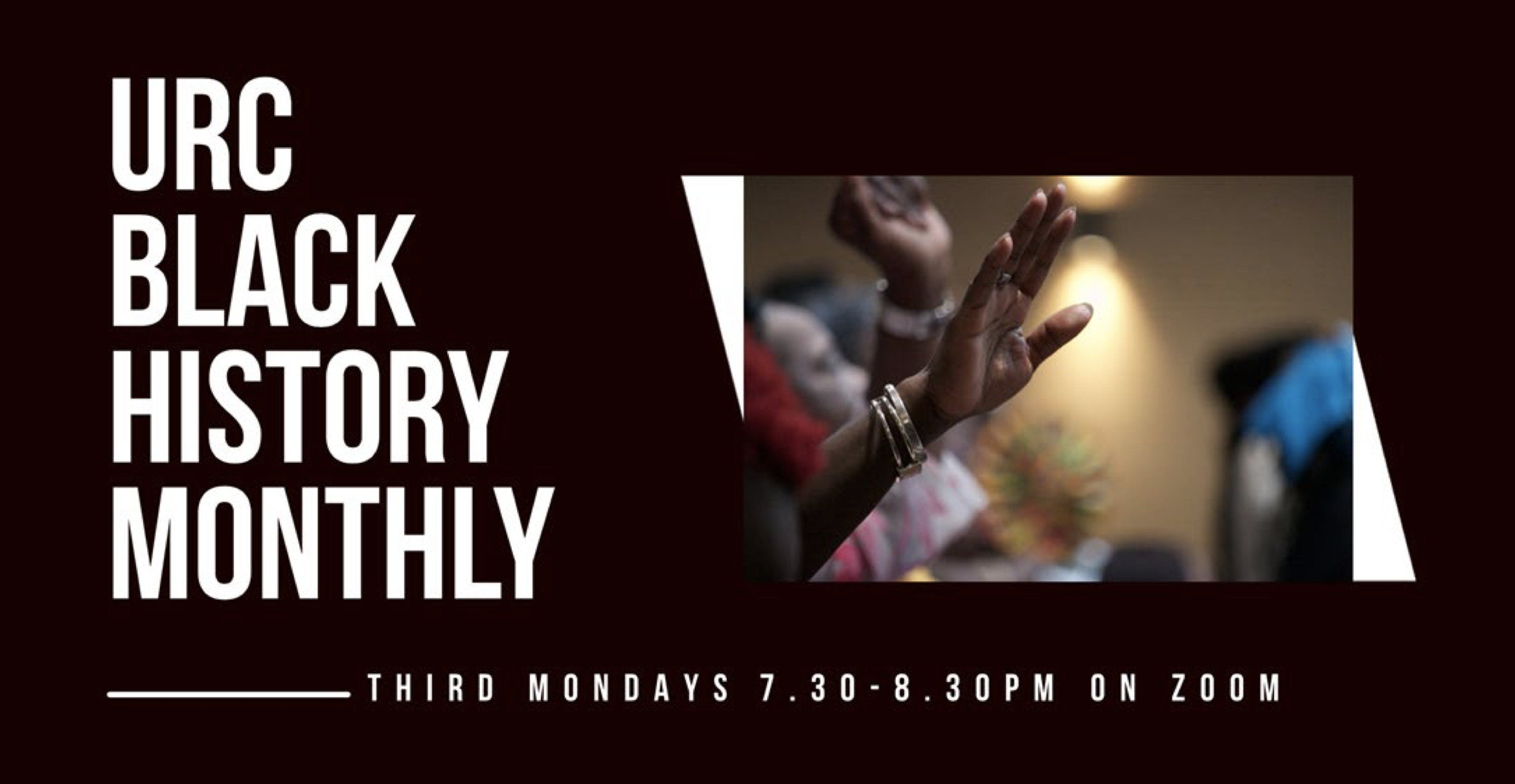 Black History Monthly with the URC and CWM Webinars
