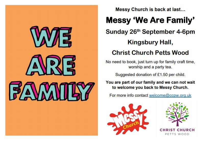 Messy 'We Are Family'